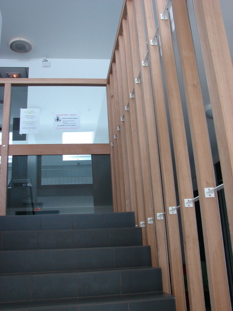 R alisations menuiserie pierre lasnier rambouillet 78 - Habillage cage escalier ...