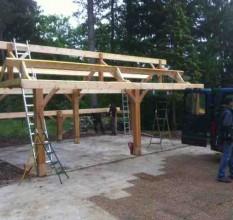 Construire une charreterie